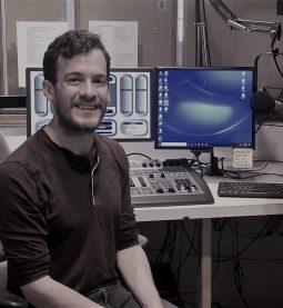 JJ in studio
